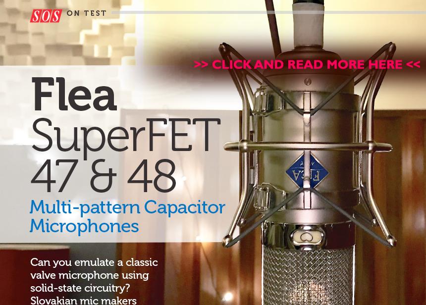 FLEA - custom made microphones